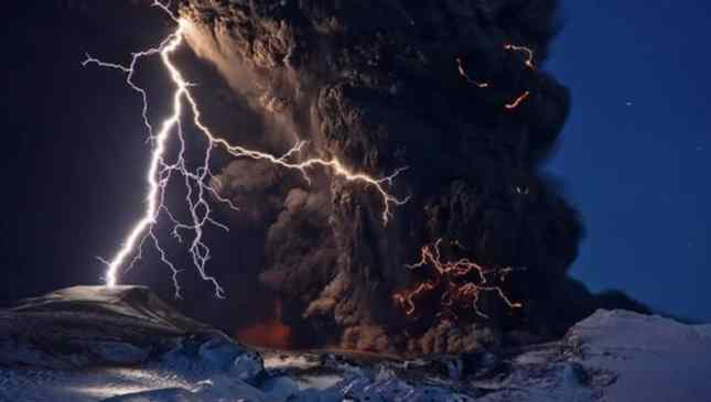 fotos de vulcão
