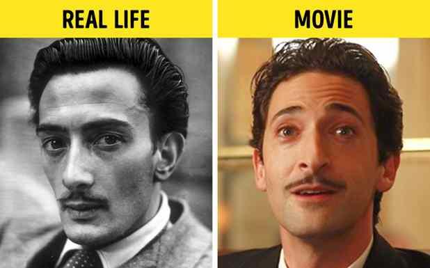 Adrien Brody como Salvador Dalí