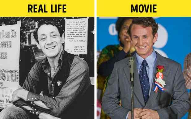 Sean Penn como Harvey Milk