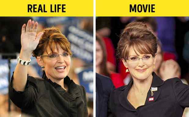 Julianne Moore como Sarah Palin