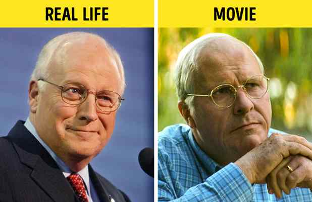 Christian Bale como Dick Cheney