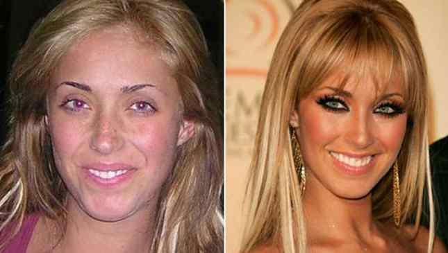 Anahí sem maquiagem
