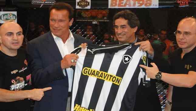 Arnold Scwarzenegger Botafogo