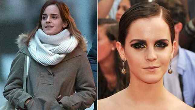 Emma Watson sem maquiagemEmma Watson sem maquiagem