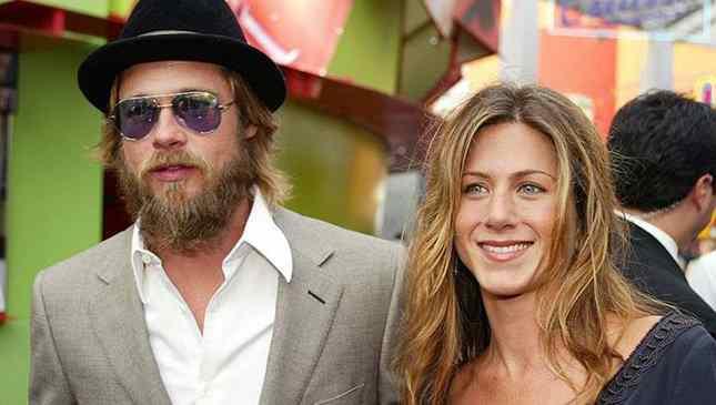 Jennifer Aniston e Brad Pitt quando casados