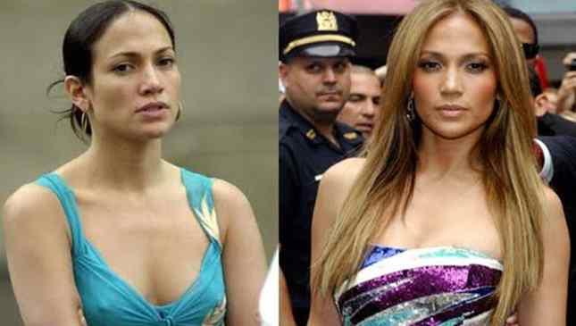 Jennifer Lopez sem maquiagem