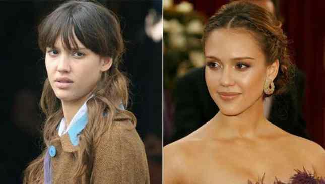 Jessica Alba sem maquiagem