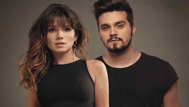 Paula Fernandes e Luan Santana na divulgação de Juntos