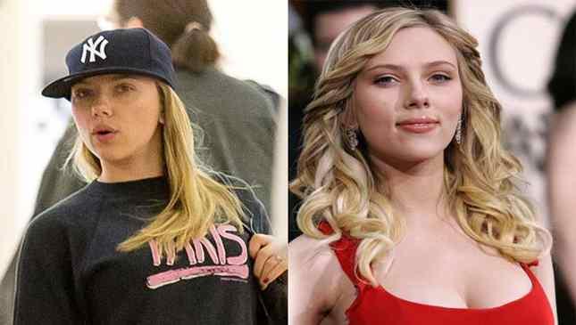 Scarlett Johansson sem maquiagem