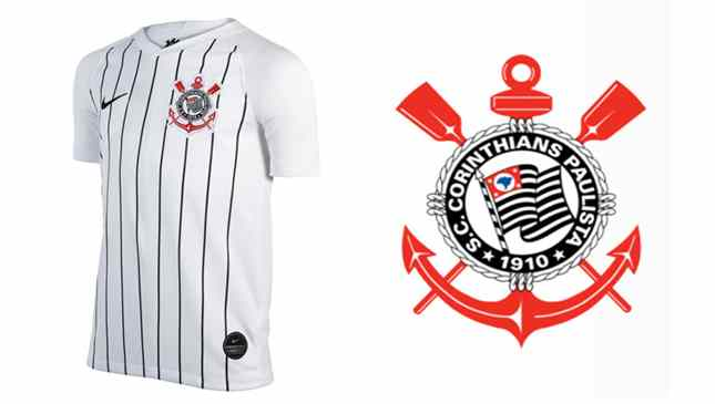 camisa nova Corinthians