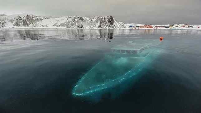 medo do fundo do mar