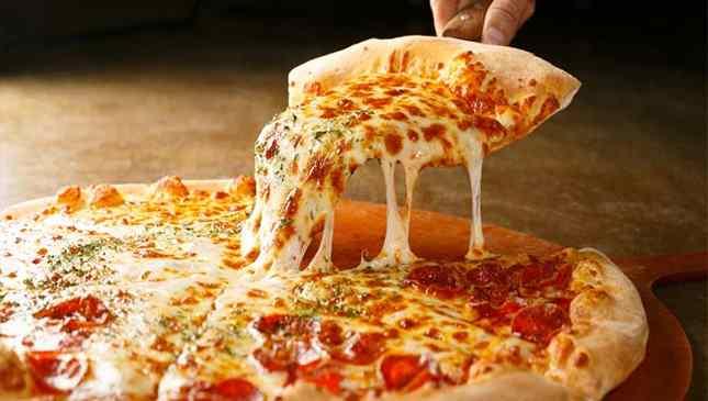pizza no café da manhã