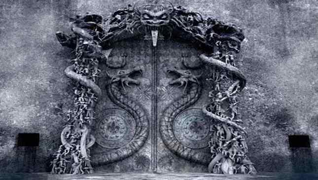 porta misteriosa