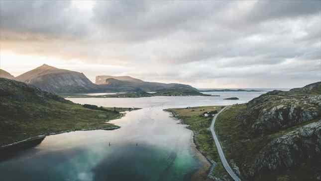 As belas ilhas Lofoten