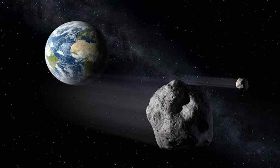 Asteroide a caminho da Terra