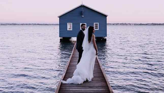 Ensaio de casamento Instagram
