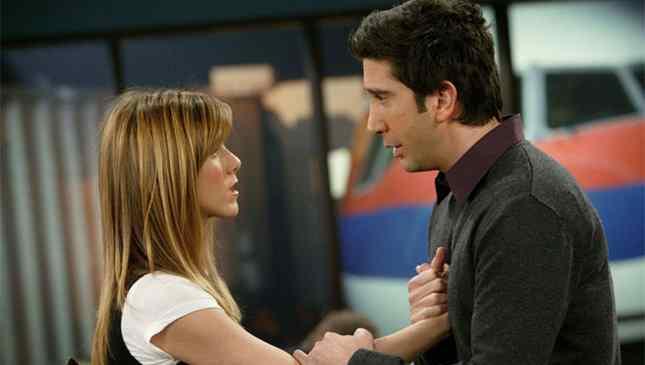 Ross e Rachel Friends