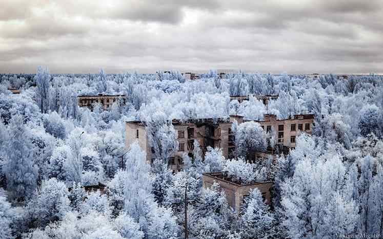 Pripyat abandonada