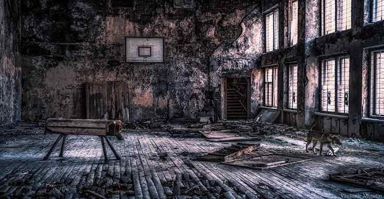 Fotos de Chernobyl e Pripyat