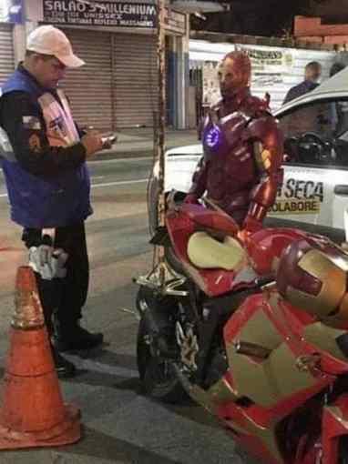 Tony Stark lei seca
