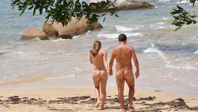 aumento na prática de nudismo