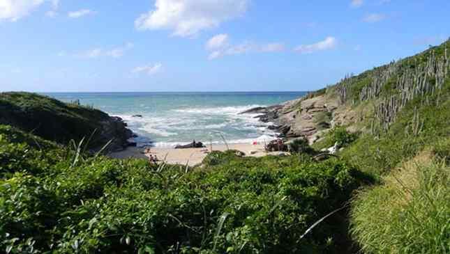 praias para nudistas