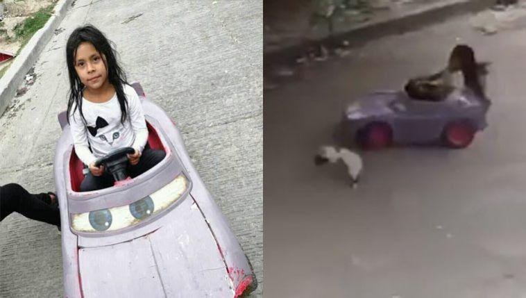 Menina atropelou gato com carrinho de brinquedo e vídeo viralizou
