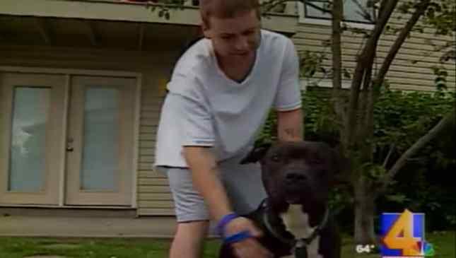 homem salvou cachorro de incêndio