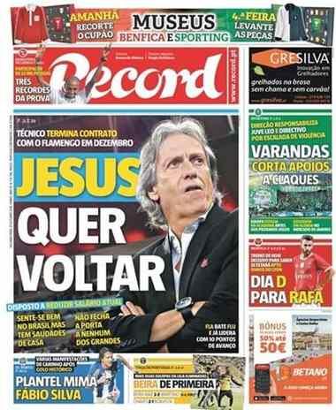 Jornal afirma que Jesus quer voltar