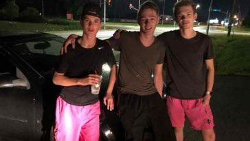 Adolescentes empurram carro quebrado de mulher por 9 km à noite