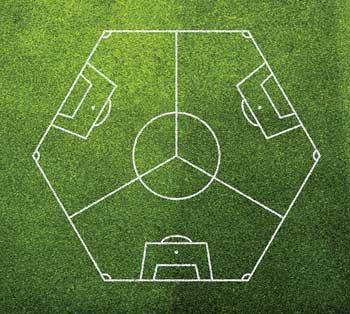 futebol de três times