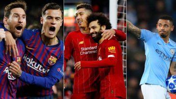 Os melhores times do mundo 2019