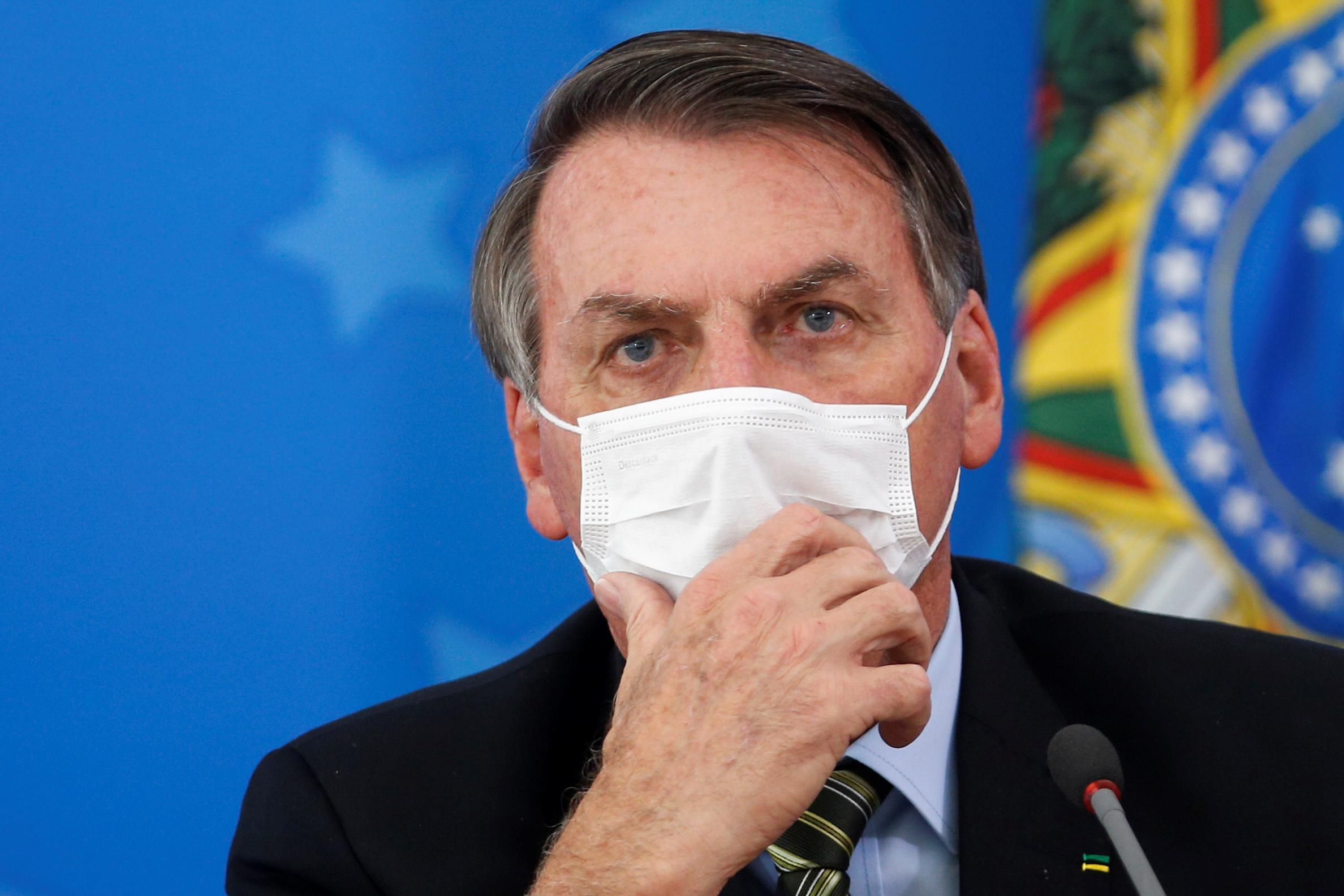 segurança de Bolsonaro coronavírus