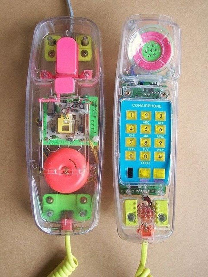 foto nostálgica telefone antigo