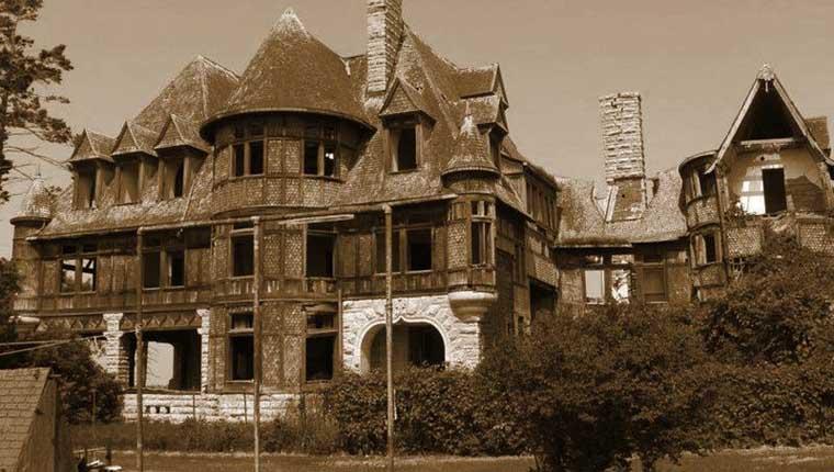 A mansão mais assustadora dos Estados Unidos