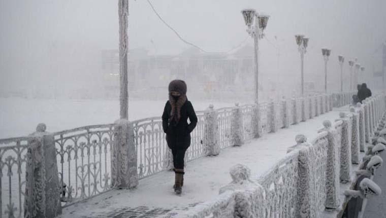 Cidades mais geladas do mundo