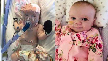 Bebê de 6 meses sobrevive a coronavírus, cirurgia cardíaca e colapso pulmonar