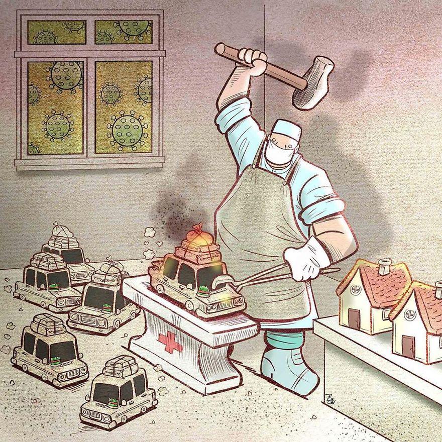 trabalhadores essenciais