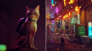 Gatinho resolve mistérios em cidade derobôsnesse lindo jogo de PS5