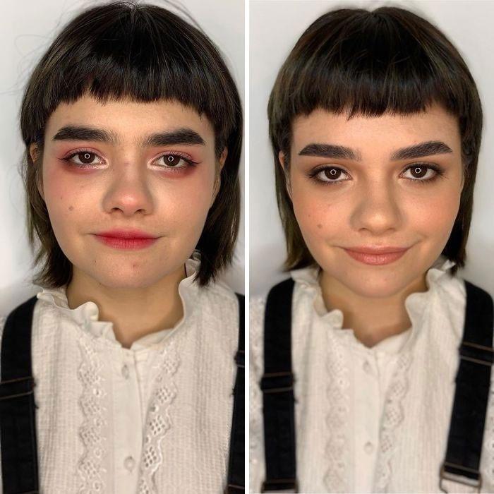 Maquiagem amadora e profissional diferença
