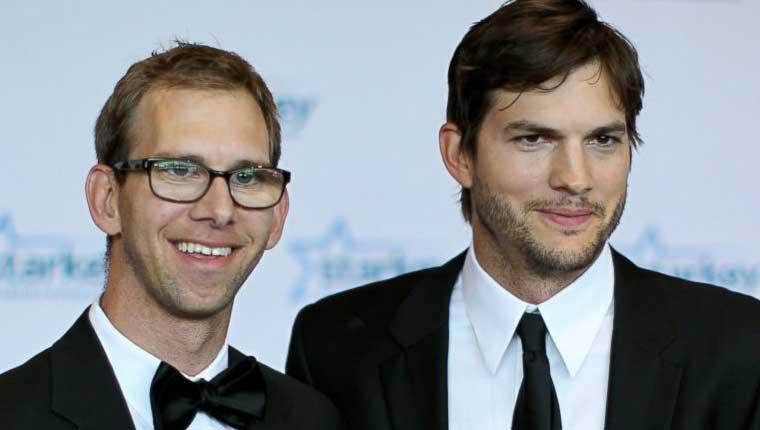 Ashton-Kutcher-e-Michael-Kutcher-famosos-com-irmãos-gêmeos