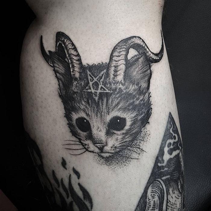 gatos tatuagens