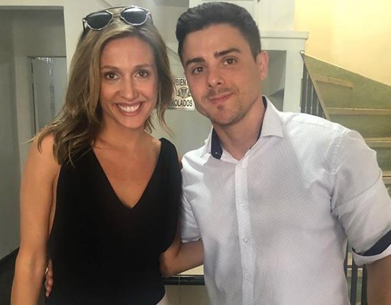 Bruno Lima e Luisa Mell