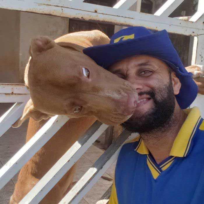 Carteiro tira selfies com gatinhos e cachorros