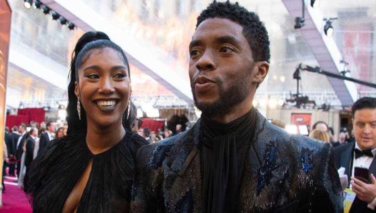 Chadwick Boseman esposa