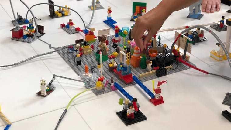 História do Lego