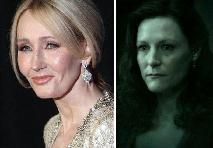 atriz mãe de Harry Potter