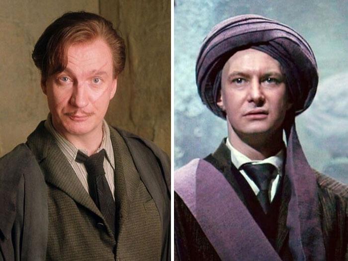 professor de Harry Potter