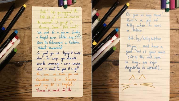 cartas de crianças gatos