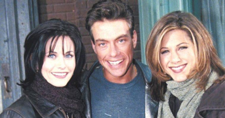 Atrizes de Friends odiaram atuar com Van Damme